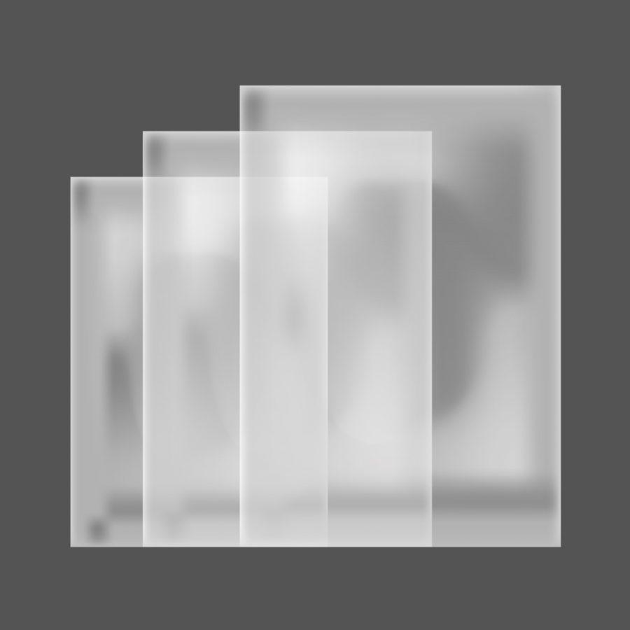 Bolsas de Polipropileno Cristal Sin Impresión